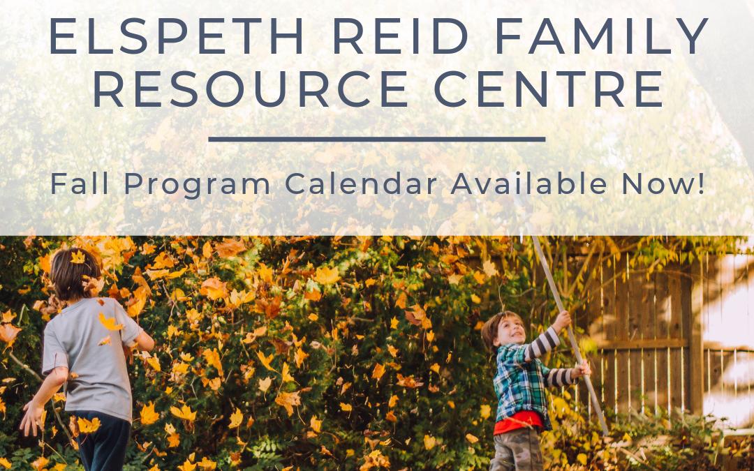 ERFRC Program Calendar